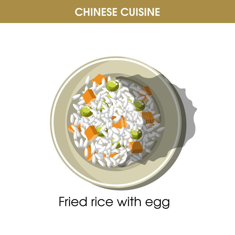 Chinese cuisine fried rice eggs traditional dish food vector icon download chinese cuisine fried rice eggs traditional dish food vector icon restaurant menu stock vector forumfinder Choice Image
