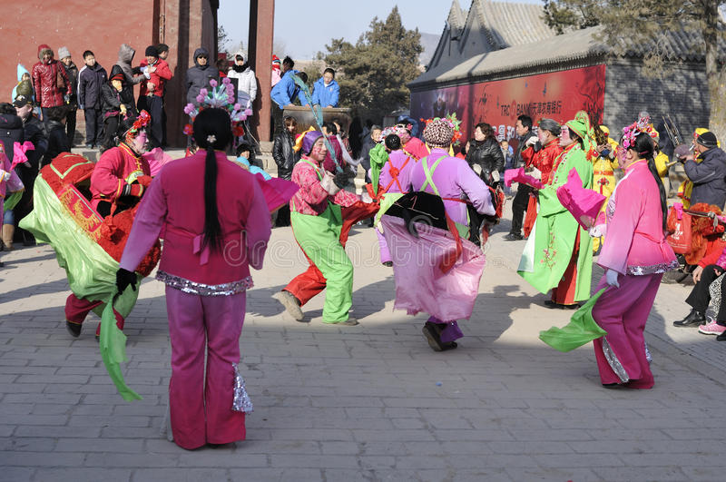 Chinese dance royalty free stock photography