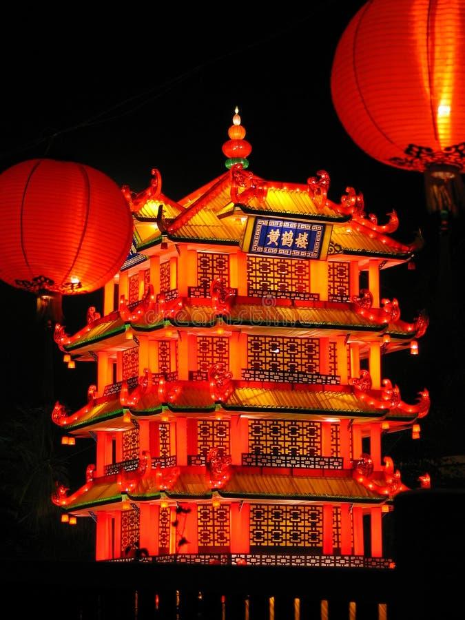 Chinese Decoratie royalty-vrije stock foto