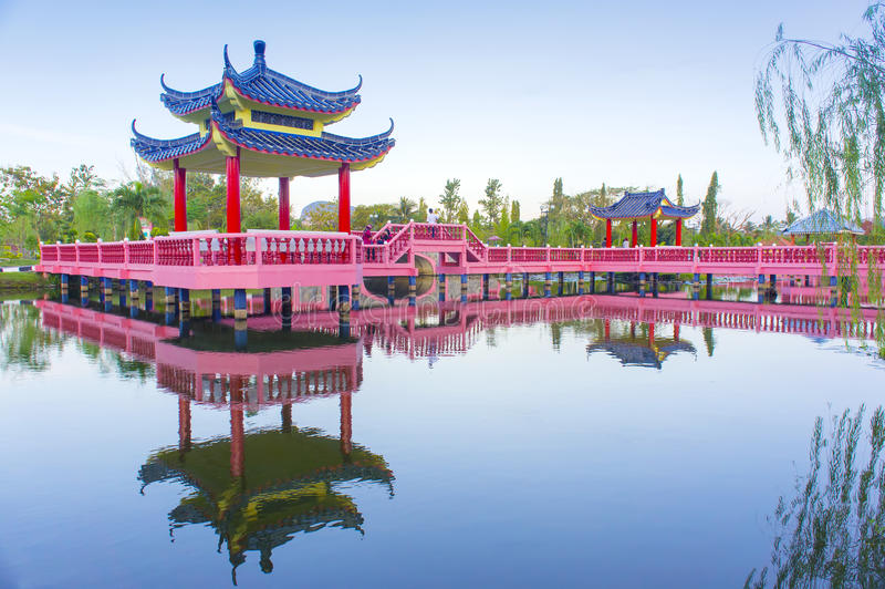 Download Chinese decoration stock photo. Image of pavilion, asian - 29983594