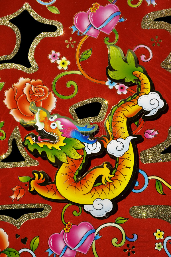 Chinese Decoration for New Year stock photography