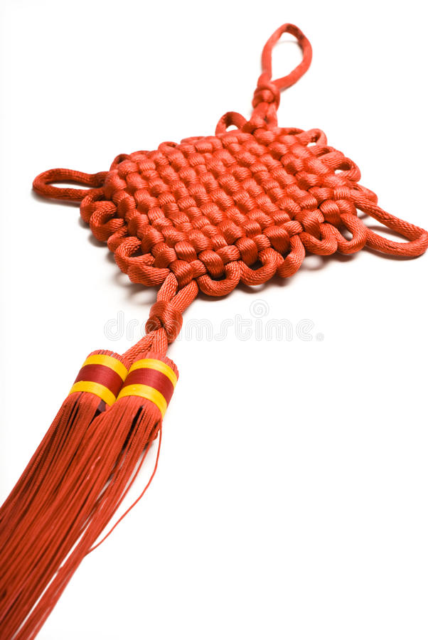 Chinese decorative knots royalty free stock photography