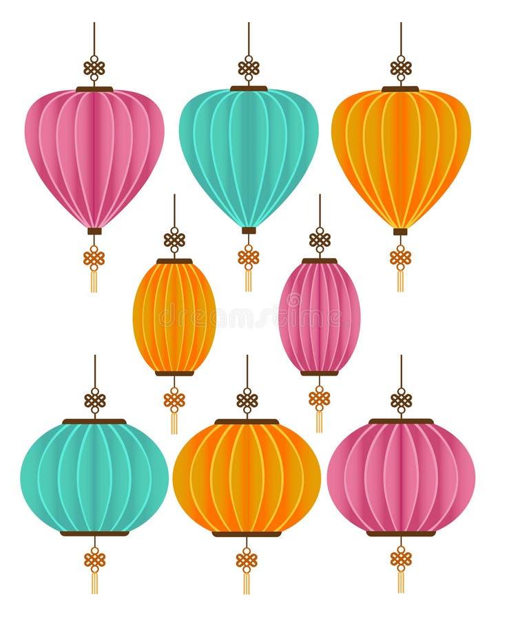Free Chinese Decorative Lantern Isolated White Background Royalty Free Stock Image - 118837506