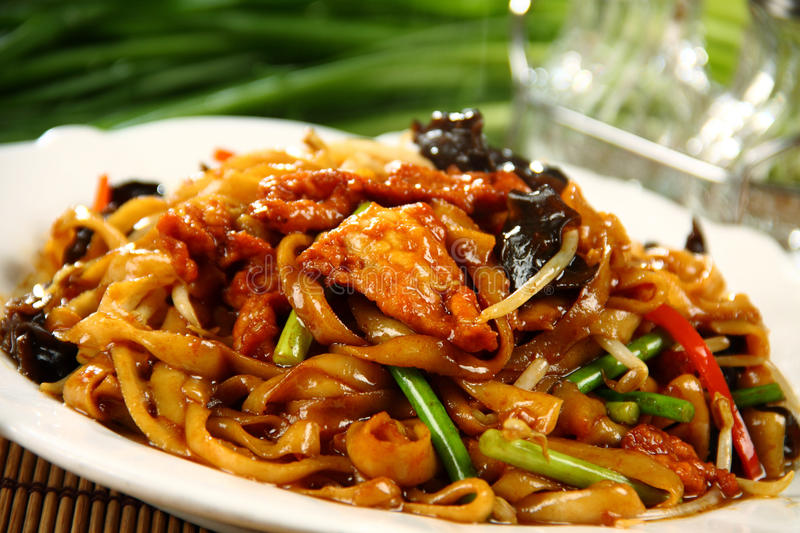 Chinese delicious food royalty free stock photo
