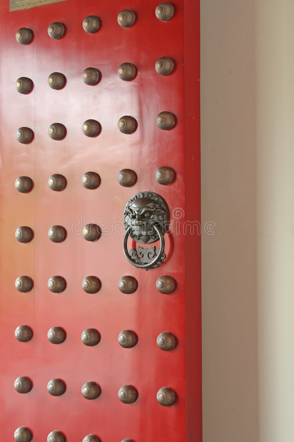 Download Chinese Design Door stock image. Image of chinese, oriental - 4900851