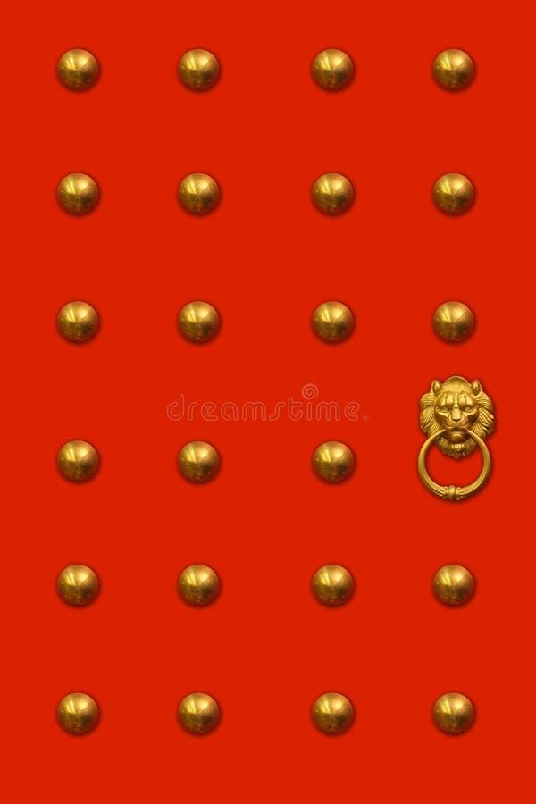Chinese deur royalty-vrije stock afbeeldingen
