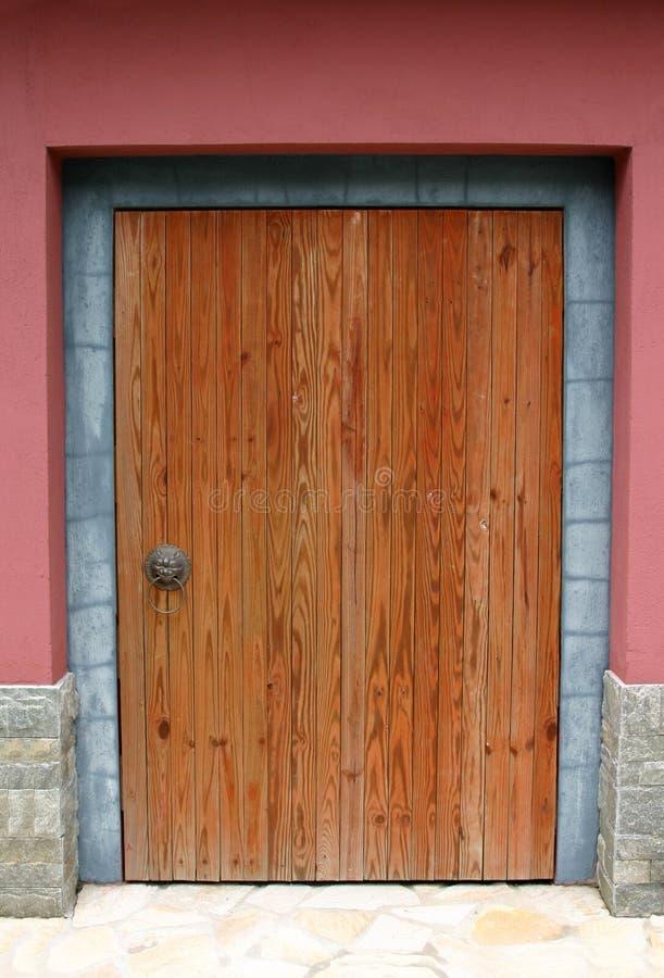 Chinese deur - Hongkong stock foto