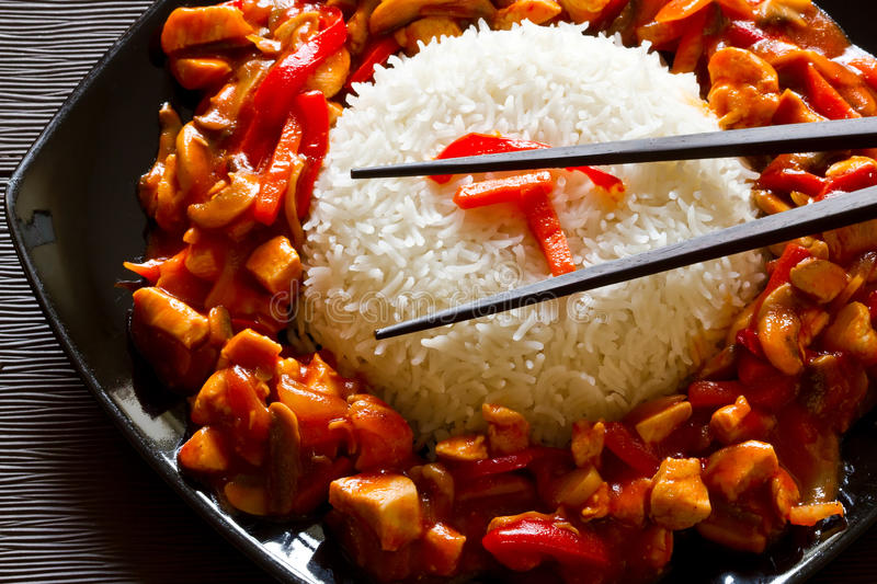 Download Chinese dish stock photo. Image of shoot, pepper, plate - 21945308