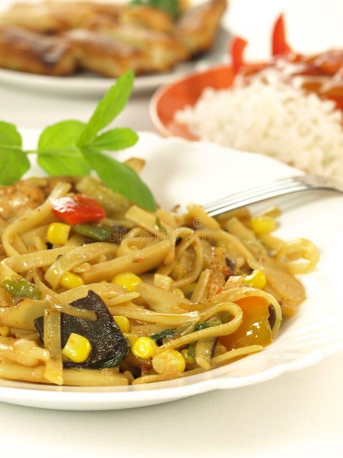 Download Chinese dish stock image. Image of basil, fungi, fork - 24388379