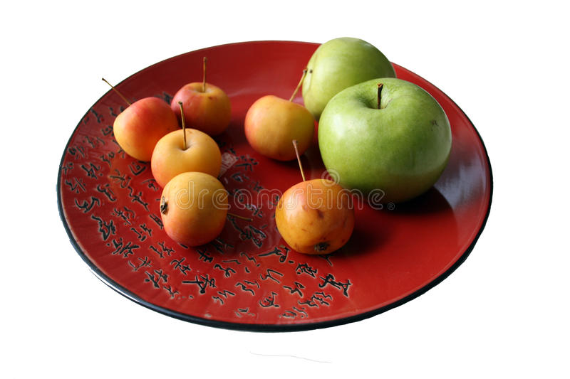 Download Chinese dish with apples stock image. Image of sweet - 10622623