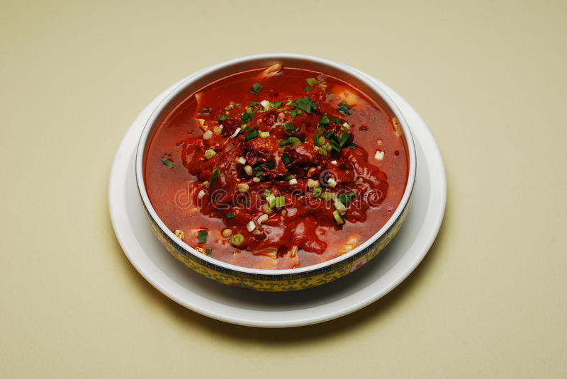 Download Chinese Dishes Boiled Beef stock photo. Image of chili - 16900400