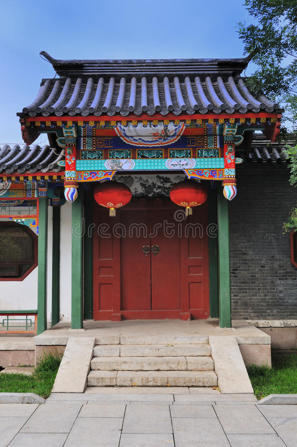 Free Chinese Door Royalty Free Stock Photography - 17079947