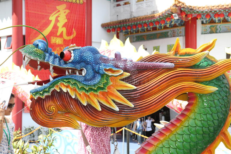 Chinese draak royalty-vrije stock foto's