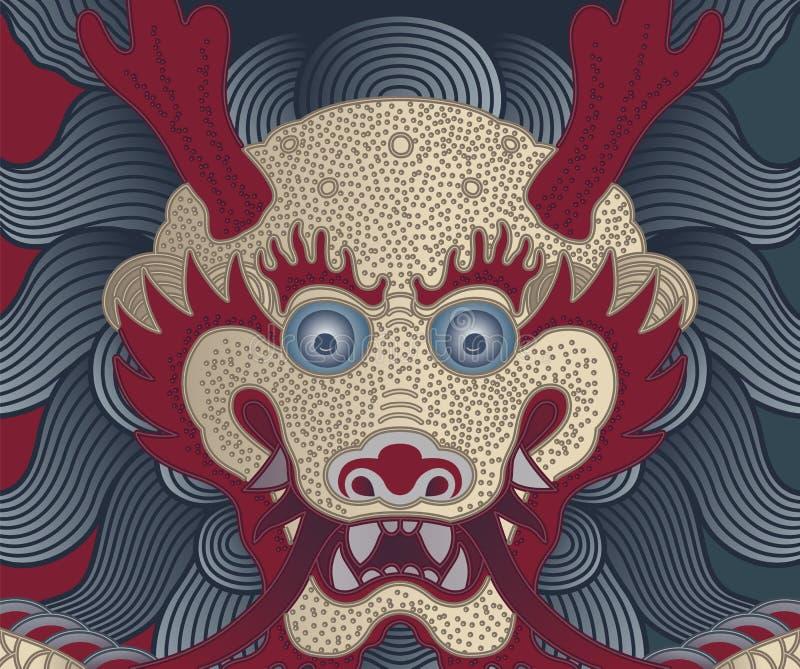 Chinese Draak stock illustratie