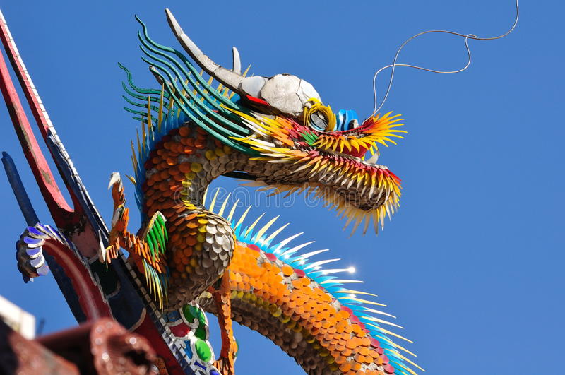 Download A Chinese Dragon Royalty Free Stock Photos - Image: 17964428
