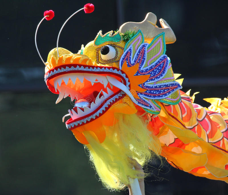 Download Chinese Dragon stock photo. Image of parade, colorful - 23247052