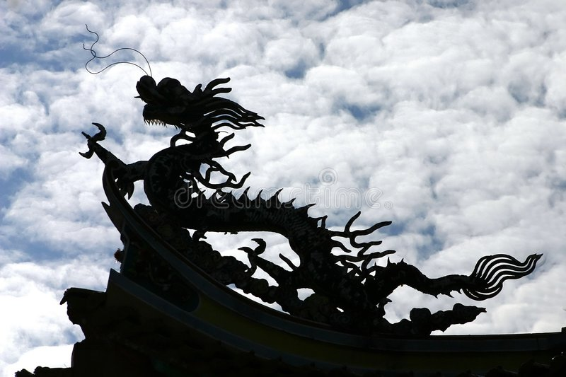 Download Chinese Dragon stock photo. Image of prosperity, shadow - 283286