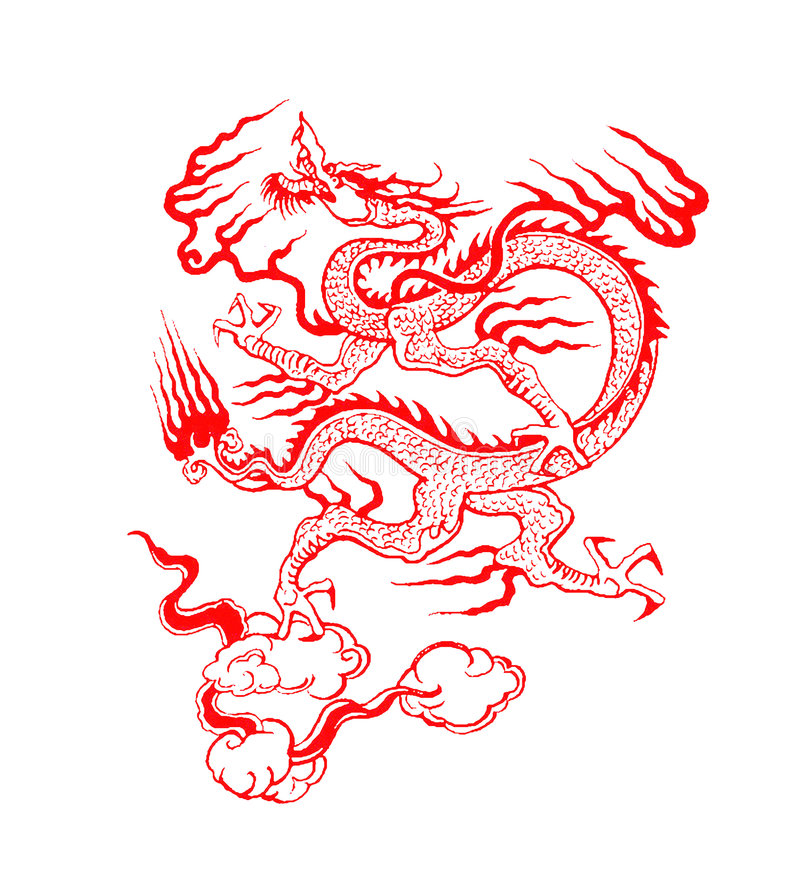 Free Chinese Dragon Royalty Free Stock Photo - 3991905