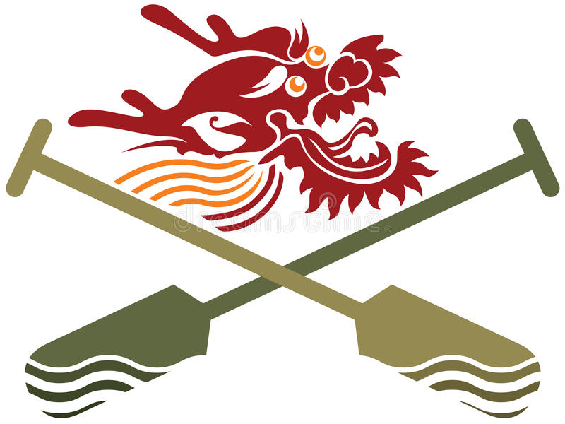Download Chinese Dragon Boat Competition Illustration Stock Vector