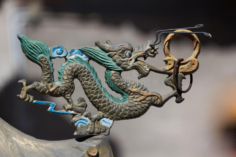 Download Chinese dragon ornament stock image. Image of power, decoration - 26648499