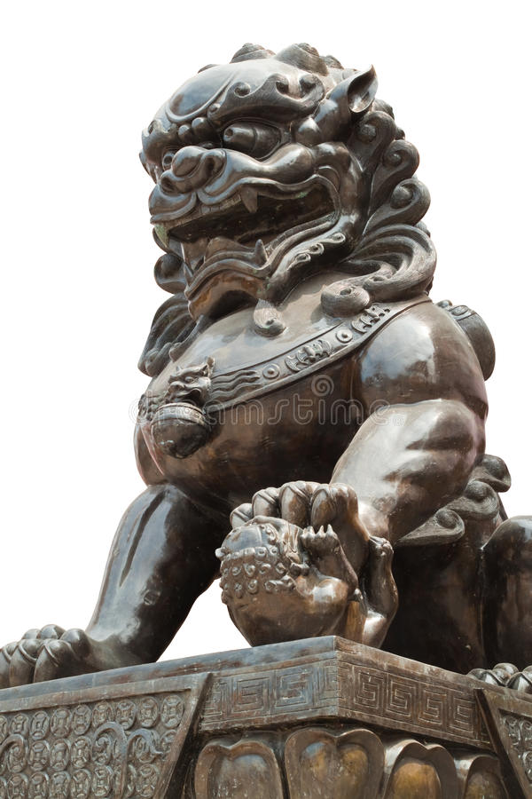 Chinese Dragon Statue Sculpture Stock Image Image Of