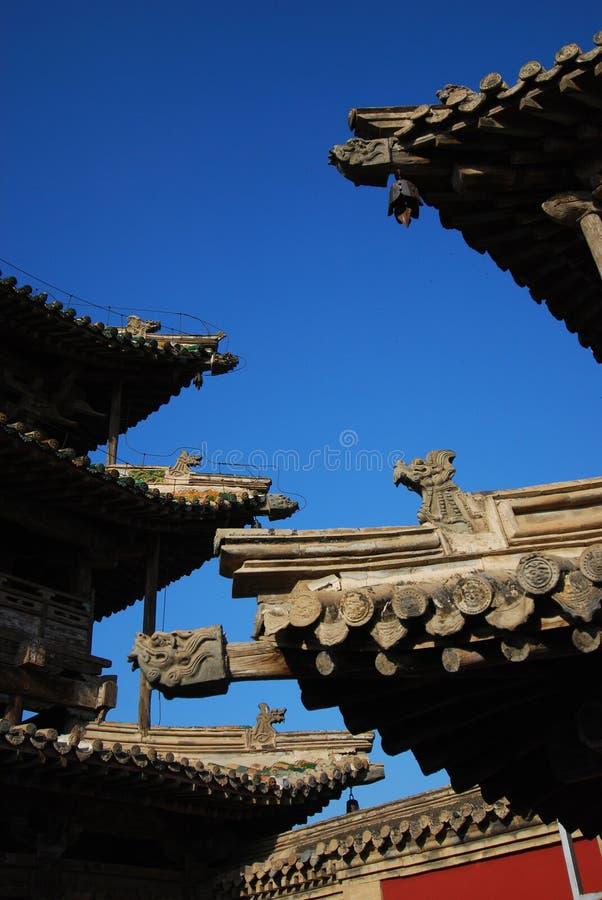 Chinese eaves royalty-vrije stock afbeeldingen