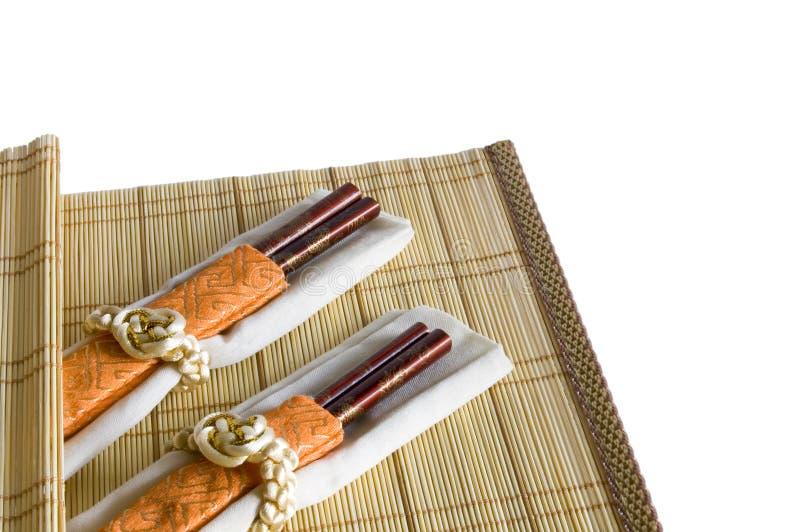 Chinese eetstokjes stock afbeelding
