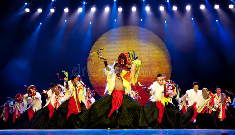 Download Chinese Ethnic Dance Of Yi Nationality Editorial Stock Image - Image: 17769269