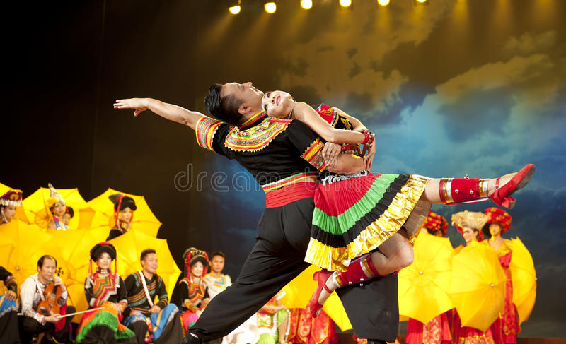 Download Chinese Ethnic Dance Of Yi Nationality Editorial Stock Photo - Image: 17769278