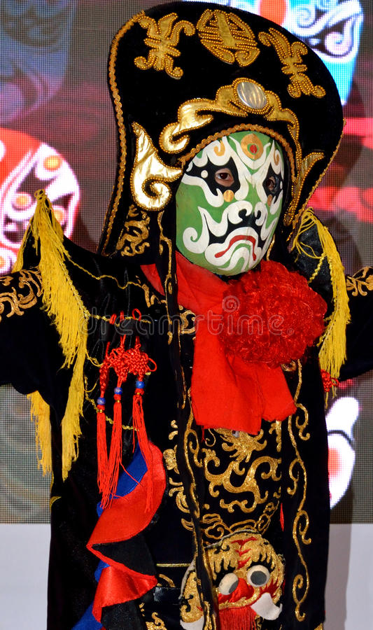 Download Chinese Face Changing As Traditional Stage Drama Editorial Stock Image - Image of popular, tradition: 36175624