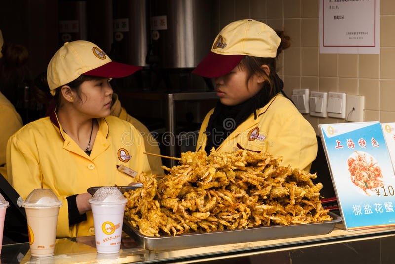 Chinese fastfood stock photography