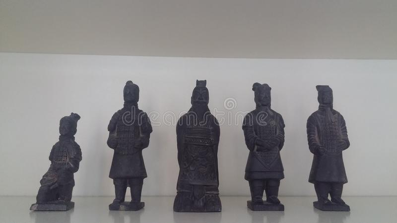 Chinese Figures royalty free stock image