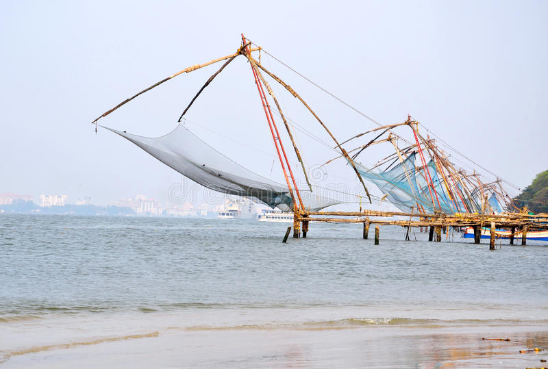 Chinese Fishing Net royalty free stock images
