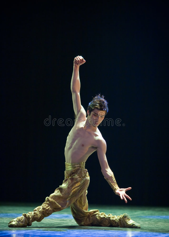 Chinese folk dance stock images