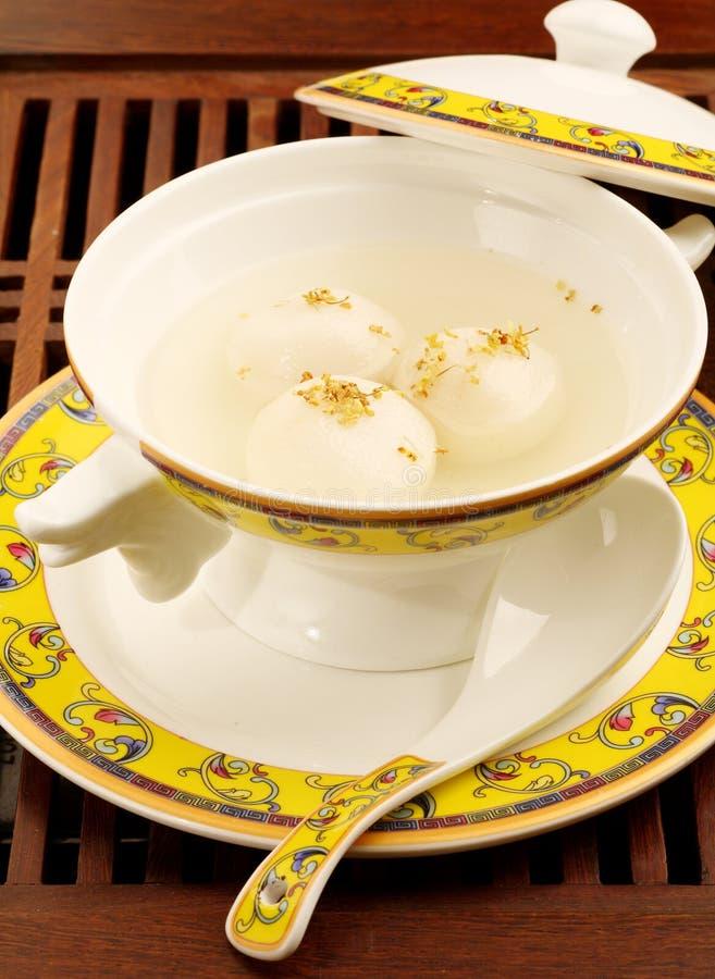 Chinese food. Glutinous rice balls for Lantern Festival royalty free stock photo