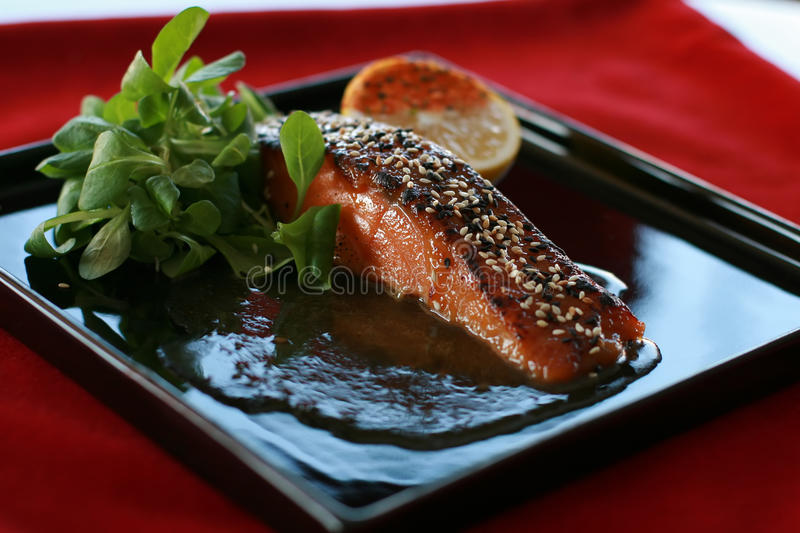Download Chinese food stock photo. Image of meal, fish, brown - 28673874