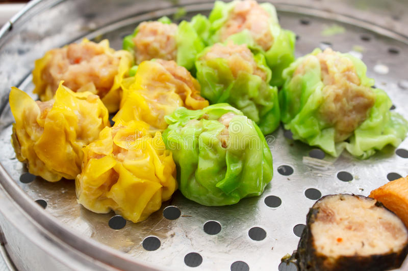 Chinese food appetizer mixed dim sum stock image image for Appetizer chinese cuisine