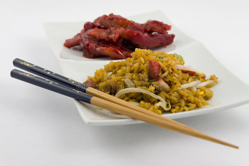 Download Chinese Food - Boneless Spare Ribs With Pork Fried Stock Photo - Image: 14472454