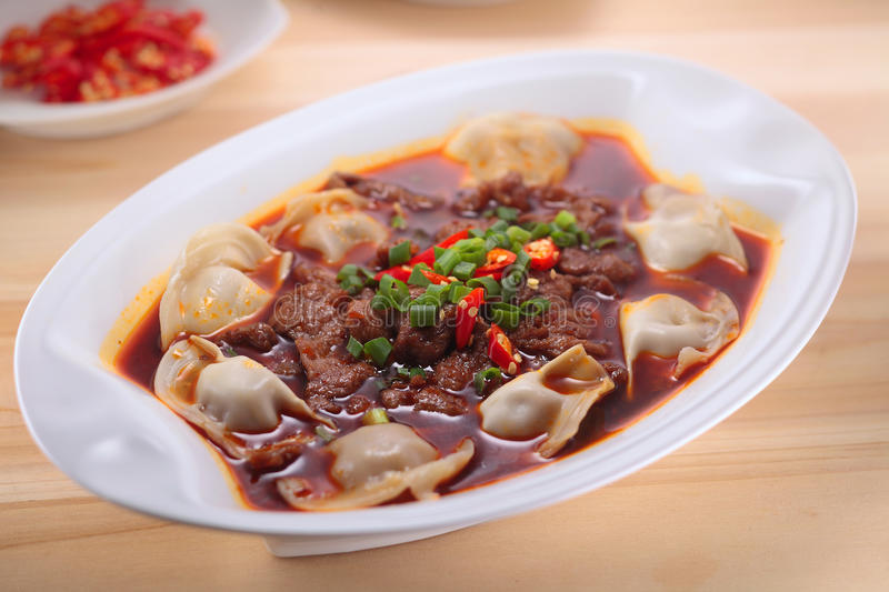 The Chinese food culture stock images
