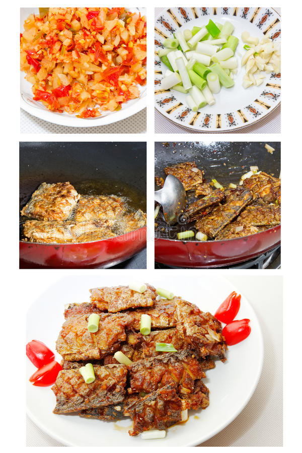 Free Chinese Food: Fried Hairtail Fish Stock Image - 53547811