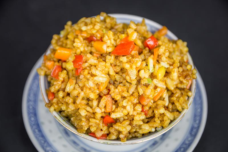 Chinese food, rice stock photography