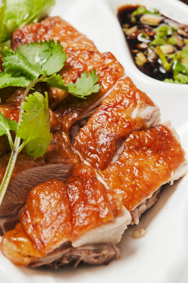 Chinese food-Roast duck royalty free stock photography