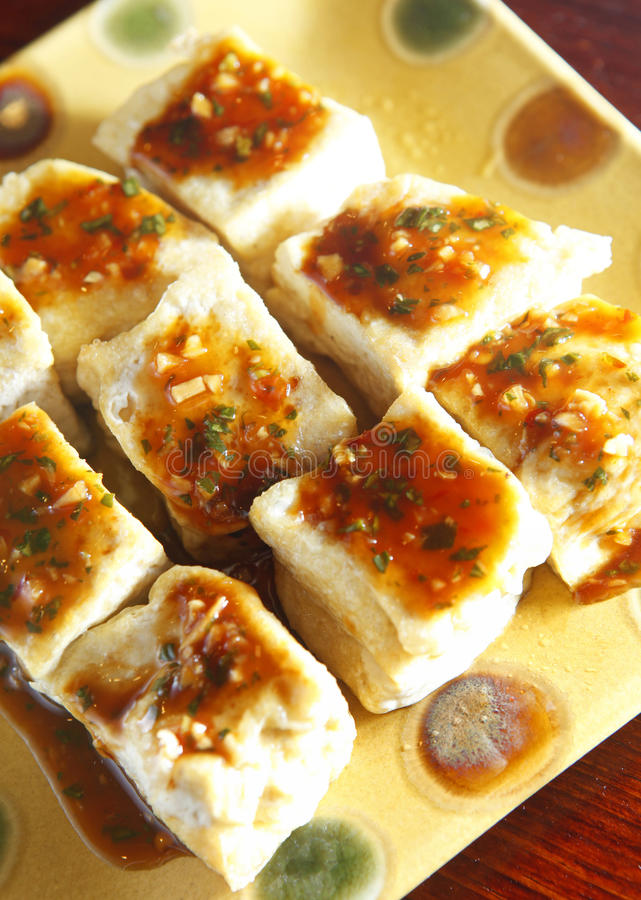 Chinese food, tofu stock images