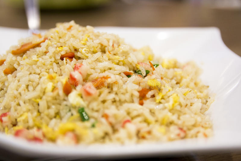 Chinese Fried Rice Authentic royalty free stock photography