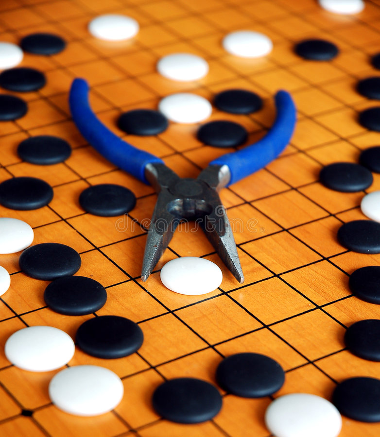 Download Chinese game of Go stock image. Image of aged, culture - 2074555