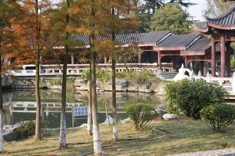 Download Chinese garden stock image. Image of autumn, home, lake - 12016019