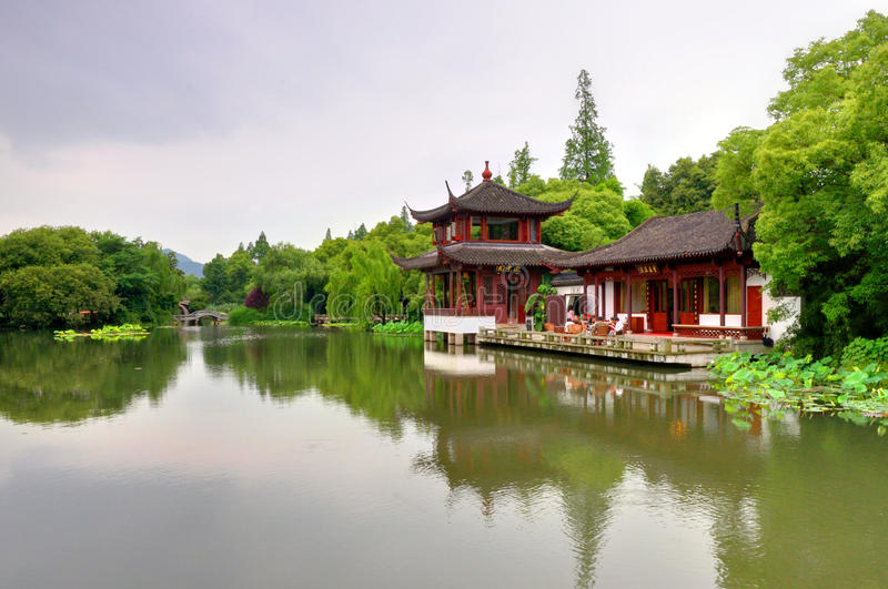 Download Chinese Garden stock image. Image of west, travel, garden - 15661351