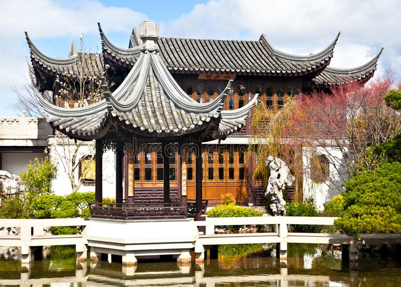 Download Chinese Garden stock image. Image of tree, peaceful, chinese - 18955101
