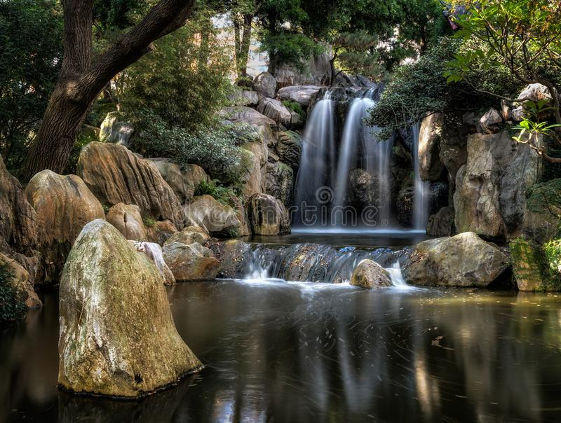 Chinese Garden of Friendship. royalty free stock image