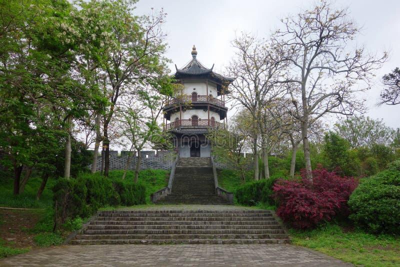 Chinese garden Geyuan. Geyuan garden,the famous chinese classical garden at Yangzhou royalty free stock images